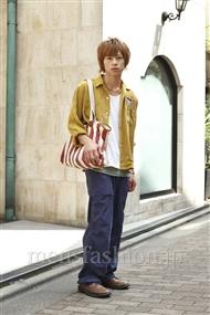 ファッションコーディネート原宿・表参道 2011年09月 大木 光さん