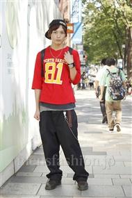 ファッションコーディネート原宿・表参道 2011年09月 藤田純太さん