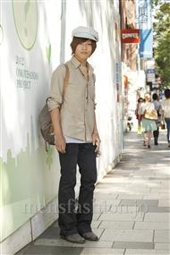 ファッションコーディネート原宿・表参道 2011年09月  菅原 涼さん