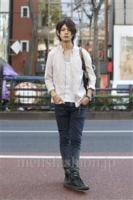 ファッションコーディネート原宿・表参道 2011年09月 藤木亮介さん