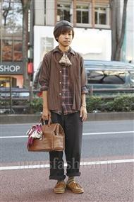 ファッションコーディネート原宿・表参道 2011年09月 大久保卓也さん