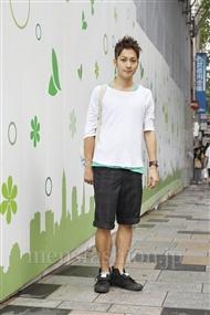 ファッションコーディネート原宿・表参道 2011年09月 浅香啓輔さん