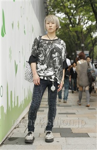 ファッションコーディネート原宿・表参道 2011年09月 畠山 遥さん