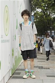 ファッションコーディネート原宿・表参道 2011年09月 浦辻大奨さん