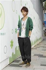 ファッションコーディネート原宿・表参道 2011年09月 長張雄飛さん