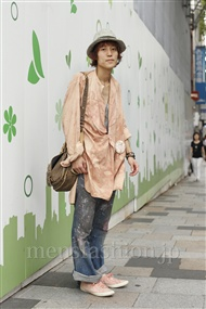 ファッションコーディネート原宿・表参道 2011年09月 カガラシュンさん