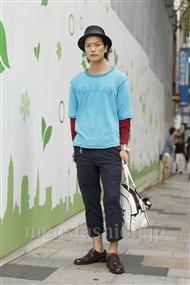 ファッションコーディネート原宿・表参道 2011年09月 中嶋時男さん