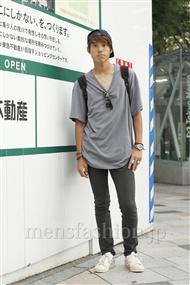 ファッションコーディネート原宿・表参道 2011年09月 キムラユウヤさん