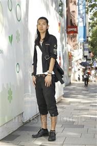 ファッションコーディネート原宿・表参道 2011年09月 谷川博昭さん