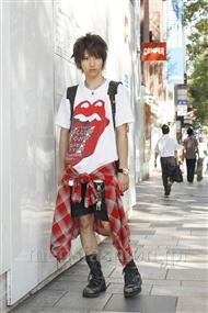 ファッションコーディネート原宿・表参道 2011年09月 吉河大樹さん