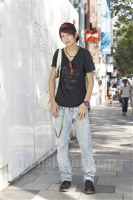 ファッションコーディネート原宿・表参道 2011年09月 斎藤教兵さん