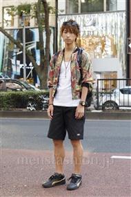 ファッションコーディネート原宿・表参道 2011年09月 三村 渡さん