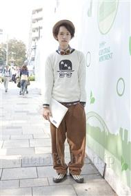 ファッションコーディネート原宿・表参道 2011年10月 浦辻大奨さん