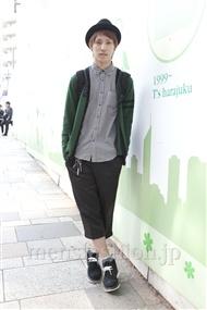 ファッションコーディネート原宿・表参道 2011年10月 藤井大志さん