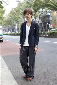 ファッションコーディネート原宿・表参道 2011年10月 鈴木将義さん