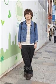 ファッションコーディネート原宿・表参道 2011年10月 井澤壮典さん