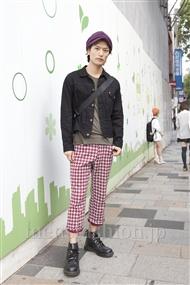 ファッションコーディネート原宿・表参道 2011年10月 中嶋時男さん