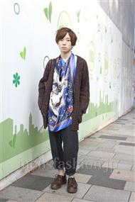ファッションコーディネート原宿・表参道 2011年10月 Q太郎さん