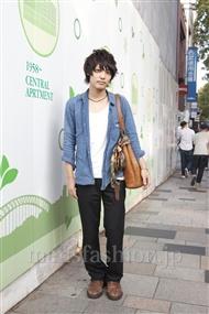 ファッションコーディネート原宿・表参道 2011年10月 八木 俊さん