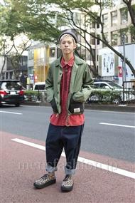 ファッションコーディネート原宿・表参道 2011年10月 カワイコウジさん
