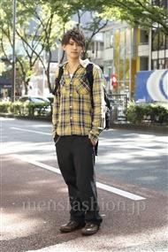 ファッションコーディネート原宿・表参道 2011年10月 益子卓也さん