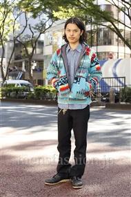 ファッションコーディネート原宿・表参道 2011年10月 青山清志さん