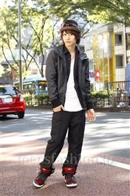 ファッションコーディネート原宿・表参道 2011年10月 吉河大樹さん