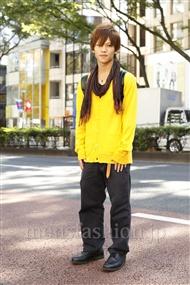 ファッションコーディネート原宿・表参道 2011年10月 夏川登志郎さん