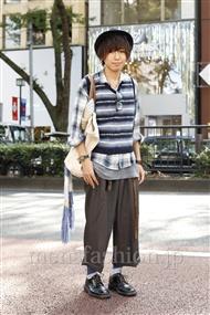 ファッションコーディネート原宿・表参道 2011年10月 木村辰哉さん