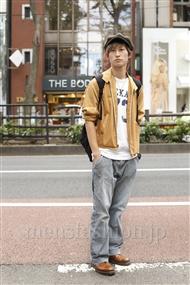 ファッションコーディネート原宿・表参道 2011年10月 松金祐大さん