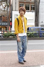 ファッションコーディネート原宿・表参道 2011年10月 藤田純太さん