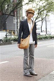 ファッションコーディネート原宿・表参道 2011年10月 菅原 涼さん