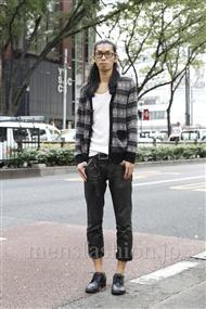 ファッションコーディネート原宿・表参道 2011年10月 谷川博昭さん