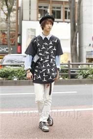 ファッションコーディネート原宿・表参道 2011年10月 米重晃希さん