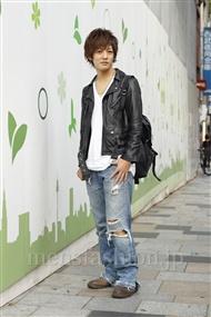 ファッションコーディネート原宿・表参道 2011年10月 大倉士門さん