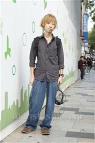 ファッションコーディネート原宿・表参道 2011年10月 岡田匠人さん