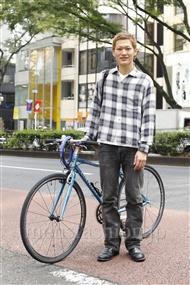 ファッションコーディネート原宿・表参道 2011年10月 渡部正馬さん