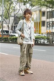 ファッションコーディネート原宿・表参道 2011年10月 永田 格さん
