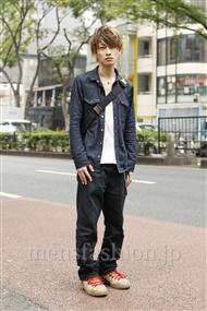 ファッションコーディネート原宿・表参道 2011年10月 森下祥平さん