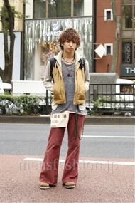 ファッションコーディネート原宿・表参道 2011年10月 大島コーヘイさん