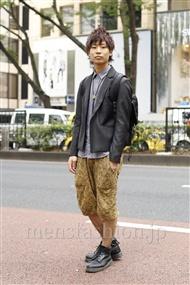 ファッションコーディネート原宿・表参道 2011年10月 阿部圭亮さん