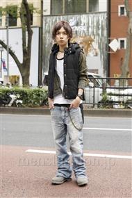 ファッションコーディネート原宿・表参道 2011年10月 青木健真さん
