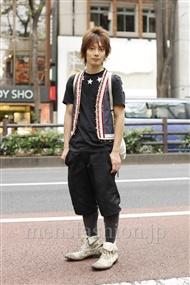 ファッションコーディネート原宿・表参道 2011年10月 新田快広さん