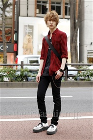 ファッションコーディネート原宿・表参道 2011年10月 富井晃示さん