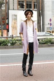 ファッションコーディネート原宿・表参道 2011年10月 喜多智仁さん