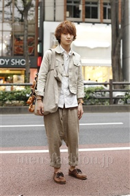 ファッションコーディネート原宿・表参道 2011年10月 モリケイスケさん