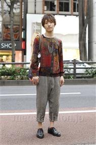 ファッションコーディネート原宿・表参道 2011年10月 ヤマモトハヤトさん