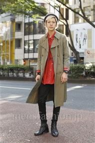 ファッションコーディネート原宿・表参道 2011年11月 カワイコウジさん