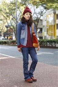 ファッションコーディネート原宿・表参道 2011年11月 浜口和希さん