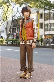 ファッションコーディネート原宿・表参道 2011年11月 木村辰哉さん